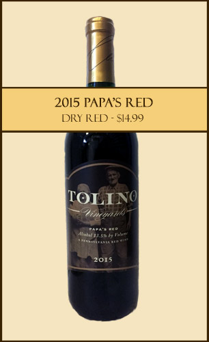 2015 Papa's Red